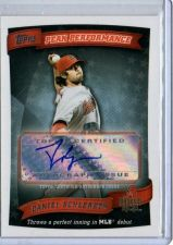 Buy MLB DANIEL SCHLERETH 2010 TOPPS PEAK PERFORMANCE CERTIFIED AUTHENTIC AUTOGRAPH
