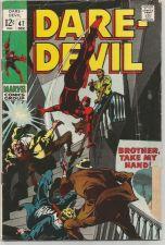 Buy Daredevil #47 MARVEL COMICS 1969 GENE COLAN