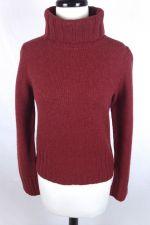 Buy J Crew Sweater Womens M Red Wool Long Sleeve