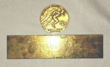 Buy 1955 CU Colorado Relays Medallion and Referee Trophy FacePlate