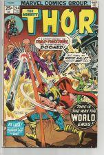 Buy THOR #244 Marvel Comics 1977 ART: BUSCEMA / SINNOTT Cover Buckler Sinnott