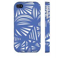 Buy Macera Blue White Iphone 4/4S Phone Case