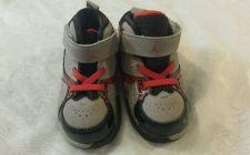 Buy Jordan Sneakers Toddler Boys Size 7 Red Gray Black