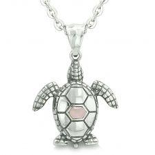 Buy Amulets Yin Yang Turtles Love Couple Magic Pendant Necklaces