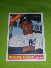 Buy MLB MICHEAL PINEDA YANKEES SUPERSTARS 2015 TOPPS HERITAGE #160 GEM MNT