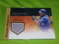 Buy MLB MELKY CABRERA ROYALS 2012 TOPPS GOLDEN MOMENTS GAME WORN JERSEY RELIC MNT