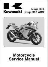 Buy 2013-2014-2015 Kawasaki Ninja 300 ABS Service Repair Workshop Manual CD