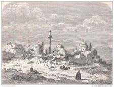 Buy IRAK - VIEW IN MOSUL - engraving from 1861