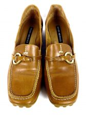 Buy Sesto Meucci Shoes 7 Womens Brown Leather Loafers