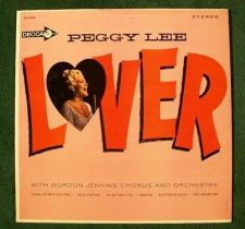 Buy PEGGY LEE ~ Lover 1964 Pop LP
