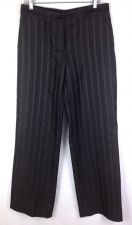Buy Giorgio Armani Pants Mens 44 Black Silk Dress Slacks