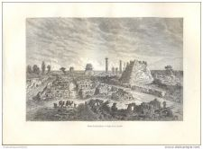 Buy CHINA - RUINS IN SOU-TCHEOU - engraving from 1882