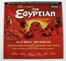 Buy THE EGYPTIAN ~ 1954 Movie Soundtrack LP