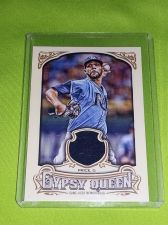 Buy MLB DAVID PRICE RAYS 2014 TOPPS GYPSY QUEEN GAME WORN JERSEY RELIC MNT
