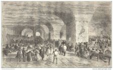 Buy GERMANY - ROYAL BREWERY IN MUNICH (MUNCHEN) - engraving from 1862