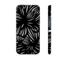 Buy Batrich Black White Flowers Floral Botanical Iphone 5/5S Phone Case