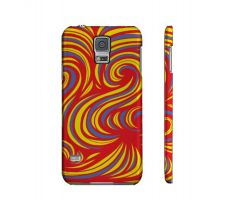 Buy Monti Yellow Red Samsung Galaxy S5 Phone Case