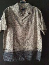 Buy Chaps Ralph Lauren Mens Button Short Sleeve Shirt Size Large