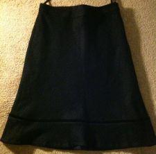 Buy Gap Black Wool Womens Skirt Size 26