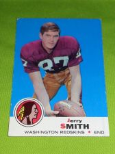 Buy VINTAGE JERRY SMITH REDSKINS 1969 TOPPS #45 HIGH BOOK VALUE