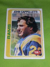Buy VINTAGE JOHN CAPPELLETTI RAMS HOF SUPERSTAR 1976 TOPPS #453 FR-GD