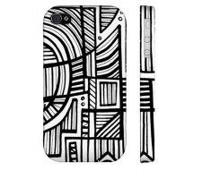 Buy Brefka Black White Iphone 4/4S Phone Case