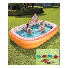 Buy 3D Interactive Adventure Outdoor Backyard New Kiddie Pool Inflatable