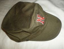 Buy Zephyr Nebraska Huskers Military-Green box cut 100% cotton twill cap hat 7 1/8'