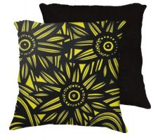 Buy 22x22 Burmester Yellow Black Pillow Flowers Floral Botanical Cover Cushion Case Throw