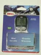 Buy Bell Cyclocomputer 12 function bicycle bike SPEEDOMETER odometer trip distance