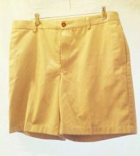 Buy EUC men's sz. 36 L. L. Bean Classic Fit beige pleated dress/golf shorts