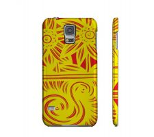 Buy Stancer Yellow Red Flowers Samsung Galaxy S5 Phone Case