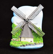 Buy 3D SCULPTURE FRIDGE MAGNET MEMORIAL HOLLAND SOUVENIR COLLECTIBLE GIFT