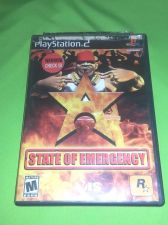 Buy State of Emergency SONY PLAYSTATION 2 TESTED AND WORKING