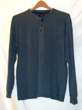 Buy EUC women's, Sz. M/M, DOCKERS, slate blue, long sleeve, shirt/sleep shirt