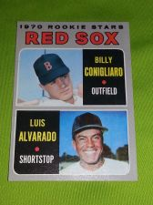 Buy VINTAGE BILLY CONIGLIARO & LUIS ALVARADO 1970 TOPPS ROOKIE STARS GD/VG