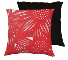 Buy Manigold 18x18 Red White Pillow Flowers Floral Botanical Cover Cushion Case Throw Pil