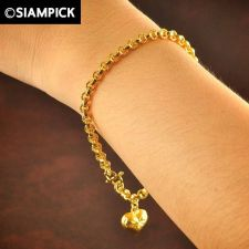 Buy Thai 22k 24k Baht Yellow Gold Plated GP Bracelet Rolo Chain Bangle Jewelry B024