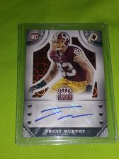 Buy NFL TRENT MURPHY REDSKINS 2014 PANINI AUTOGRAPHED RC 32/75 MNT