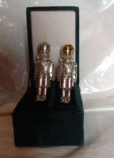 Buy Neiman Marcus Nutcracker Salt & Pepper Shakers 1994 Godinger Silver Art Co. Ltd