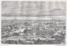 Buy CANADA - MONTREAL GENERAL VIEW - engraving from 1875