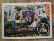 Buy Haloti Ngata 2013 SCORE #263 Baltimore Ravens NM-MT