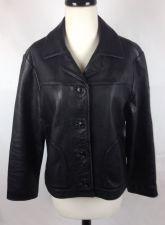 Buy The Territory Ahead Jacket P L Womens Black Leather Biker