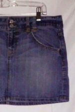 Buy EUC women's sz. 10 GAP 1969 blue denim skirt