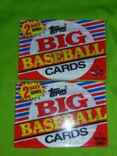 Buy LOT OF 21988 TOPPS BIG BASEBALL CARDS FACTORY SEALED 7 CARDS PER PACK