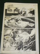 Buy original comic artwork TONY DeZUNIGA Nightmare on Elm Street NEW LOW PRICE