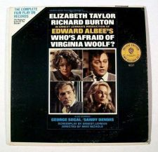 Buy WHO'S AFRAID OF VIRGINIA WOOLF? ~ 1966 The Complete Film Play on 2 LP