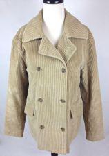 Buy J Crew Jacket Womens M Beige Corduroy Long Sleeve