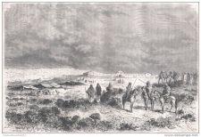 Buy ALGERIA - TLEMCEN - ONE SMALA - engraving from 1875