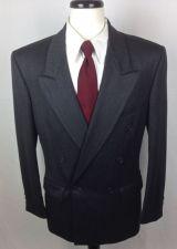 Buy Yves Saint Laurent Blazer Mens 40 R Gray Wool Sport Coat Jacket YSL